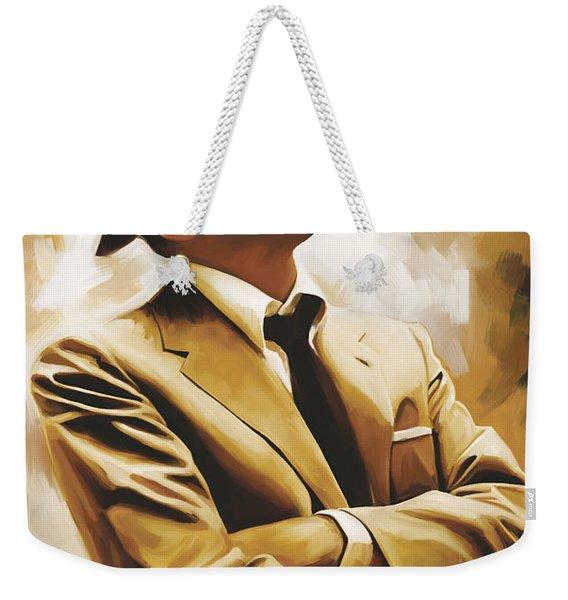 Frank Sinatra Artwork 1 Weekender Tote Bag