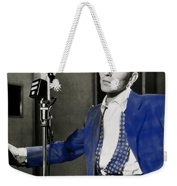 Frank Sinatra - Old Blue Eyes Weekender Tote Bag
