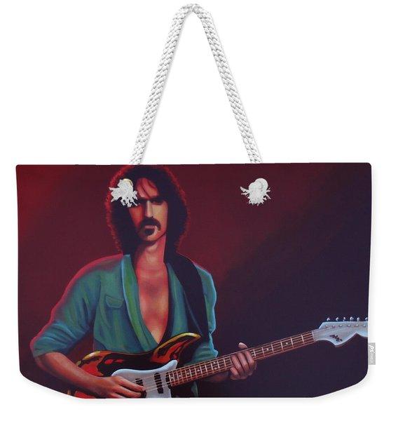 Frank Zappa Weekender Tote Bag