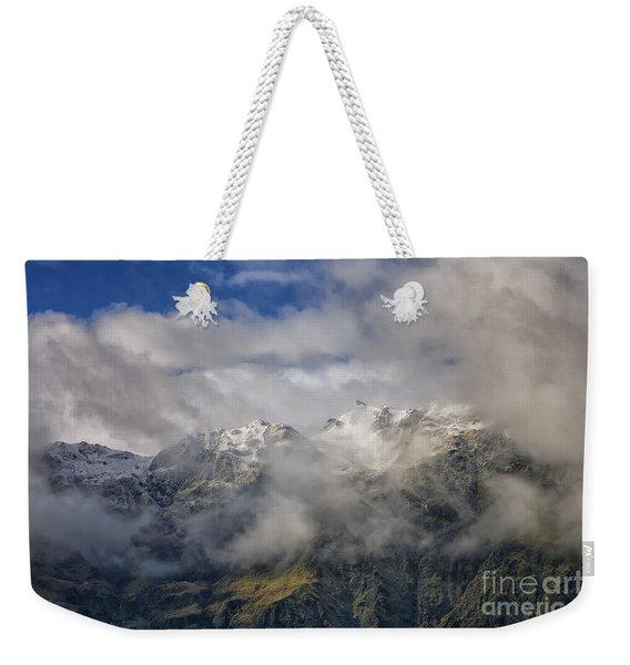 Franz Josef Glacier In New Zealand Weekender Tote Bag