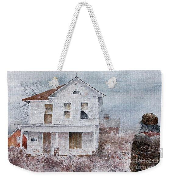 Frayed Weekender Tote Bag
