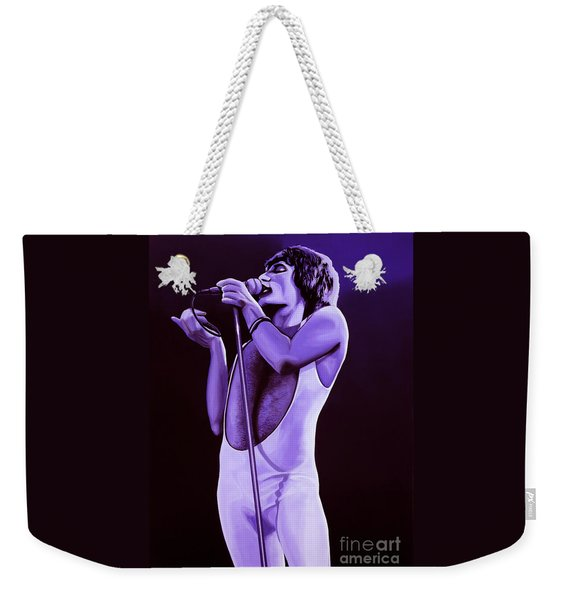 Freddie Mercury Of Queen Weekender Tote Bag