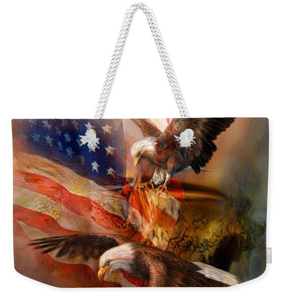 Freedom Ridge Weekender Tote Bag