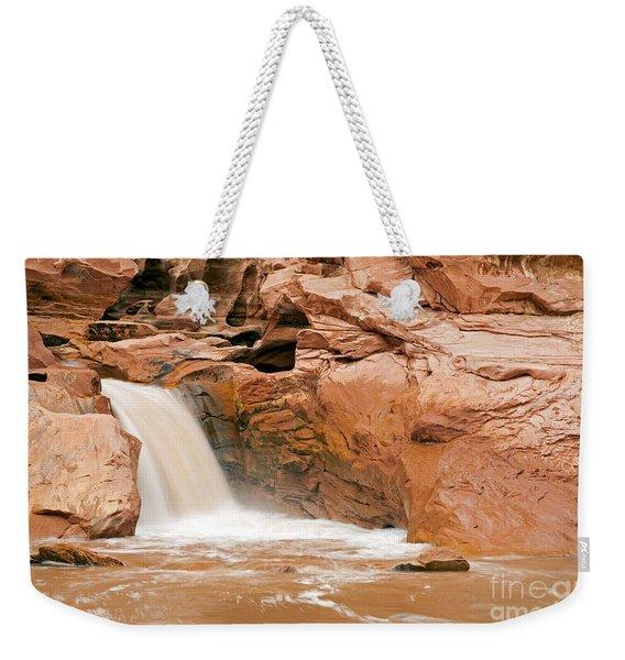 Fremont River Falls Capitol Reef National Park Weekender Tote Bag