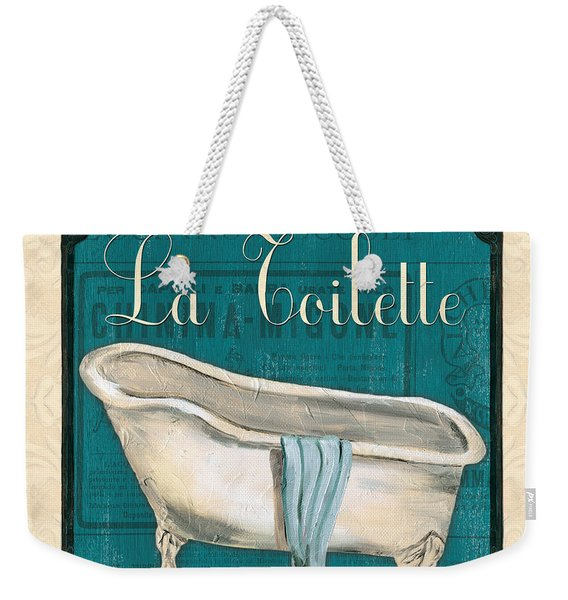 French Bath Weekender Tote Bag
