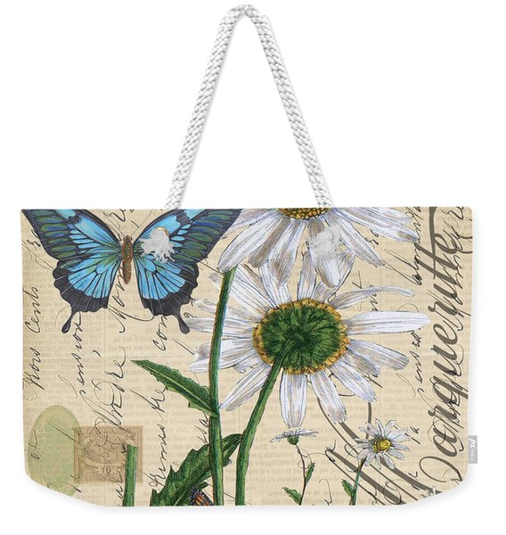 French Botanical-marqueritte Weekender Tote Bag