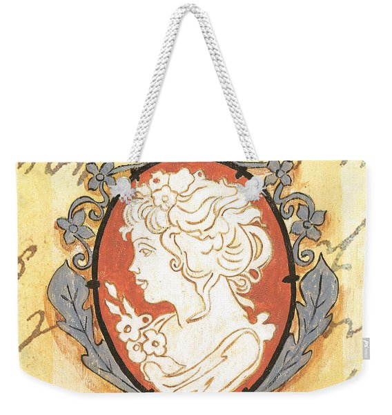 French Cameo 2 Weekender Tote Bag