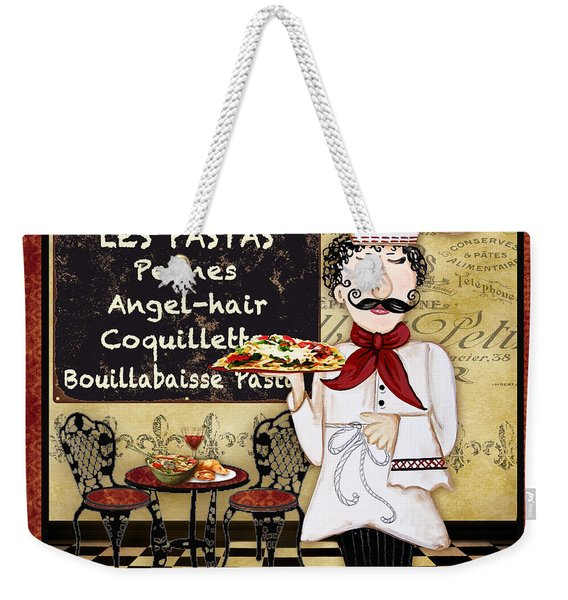 French Chef-c Weekender Tote Bag