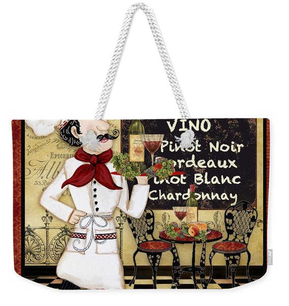 French Chef-d Weekender Tote Bag
