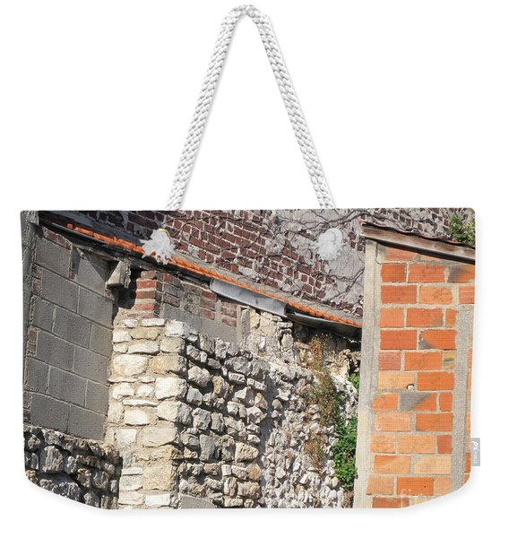 French Farm Wall Weekender Tote Bag
