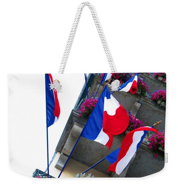 French Flags Weekender Tote Bag