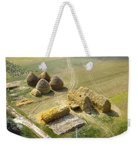 French Haystacks Weekender Tote Bag