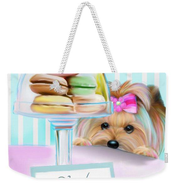 French Macarons Weekender Tote Bag