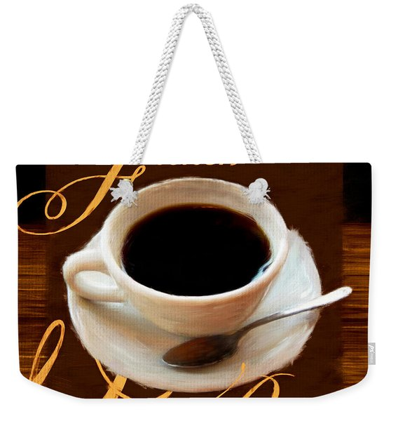 French Roast Weekender Tote Bag