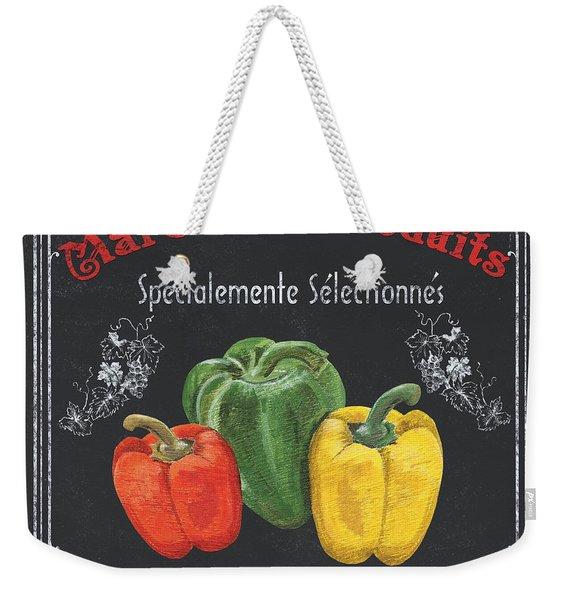 French Vegetables 3 Weekender Tote Bag