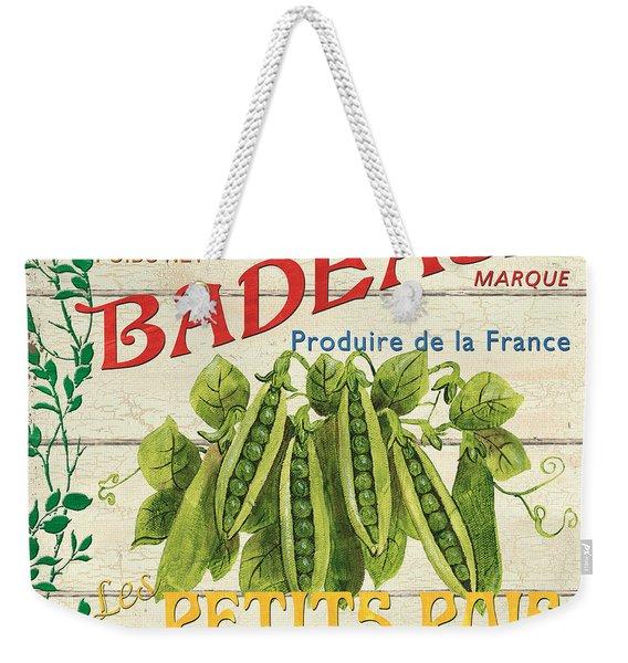 French Veggie Sign 1 Weekender Tote Bag