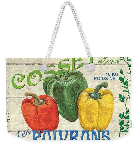 French Veggie Sign 4 Weekender Tote Bag