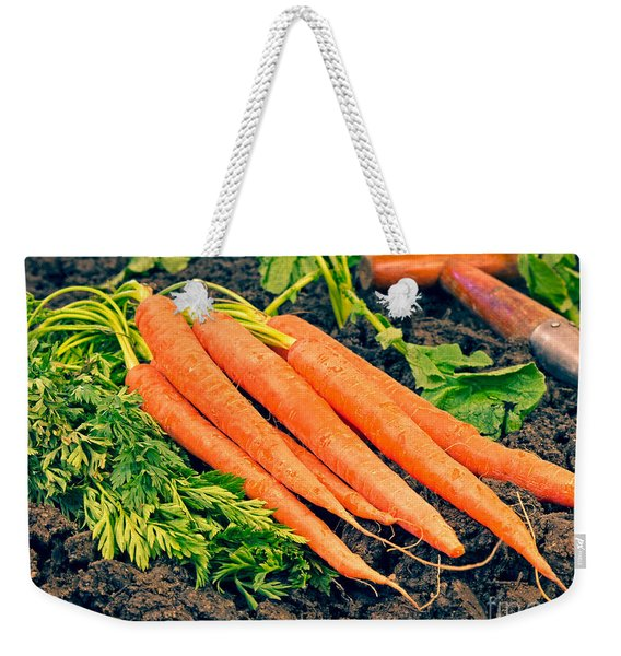 Fresh Carrots From The Garden Weekender Tote Bag