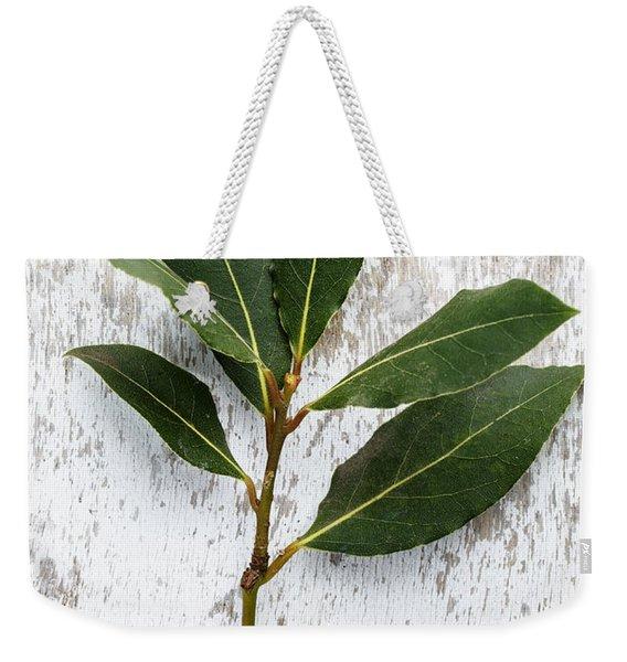 Fresh Laurel Weekender Tote Bag