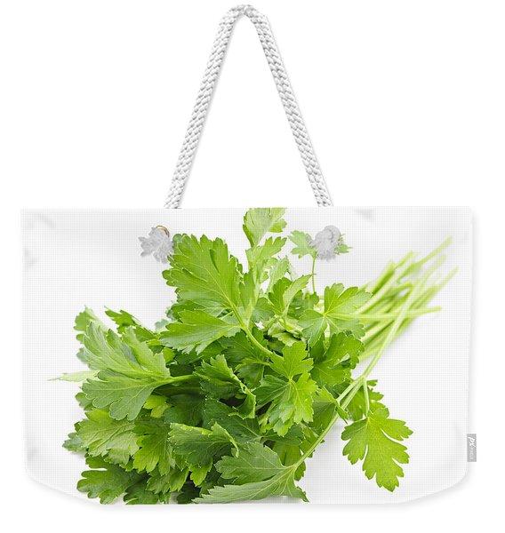 Fresh Parsley Weekender Tote Bag
