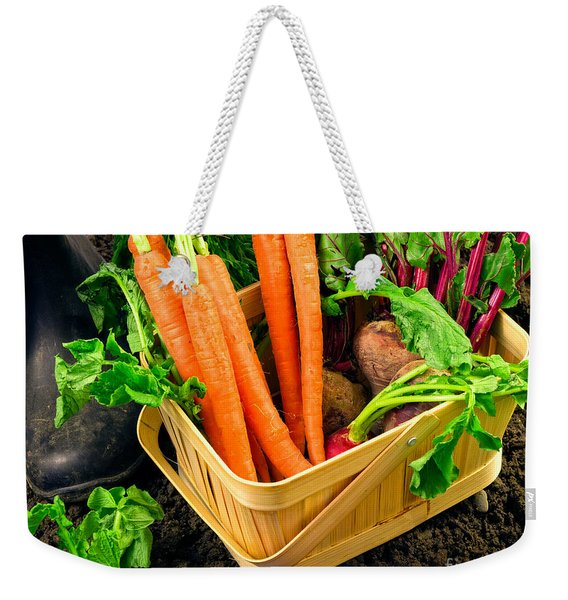 Fresh Picked Healthy Garden Vegetables Weekender Tote Bag