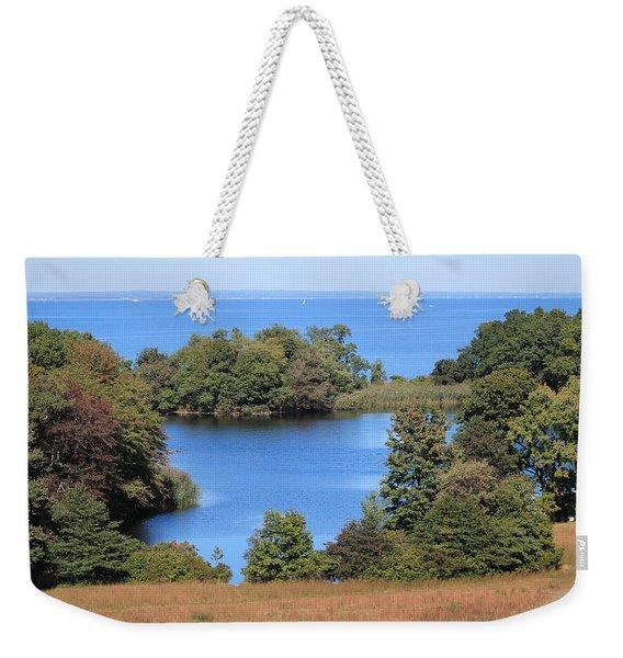 Fresh Pond At Caumsett Weekender Tote Bag