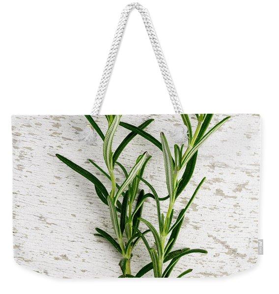 Fresh Rosemary Weekender Tote Bag