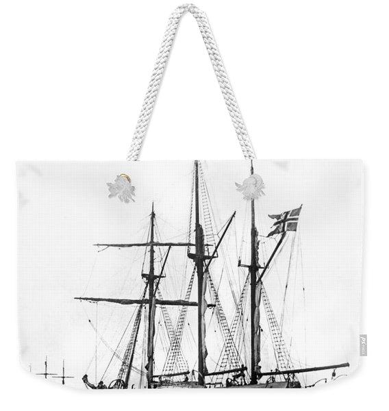 Fridtjof Nansen's Ship, �fram� Weekender Tote Bag