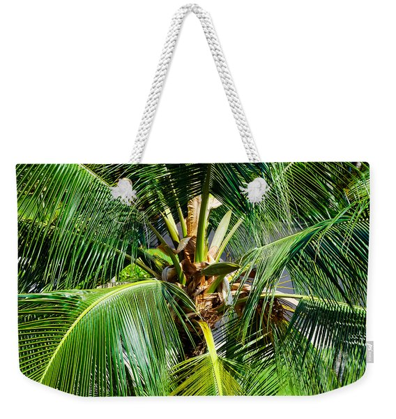 Fronds And Center Weekender Tote Bag