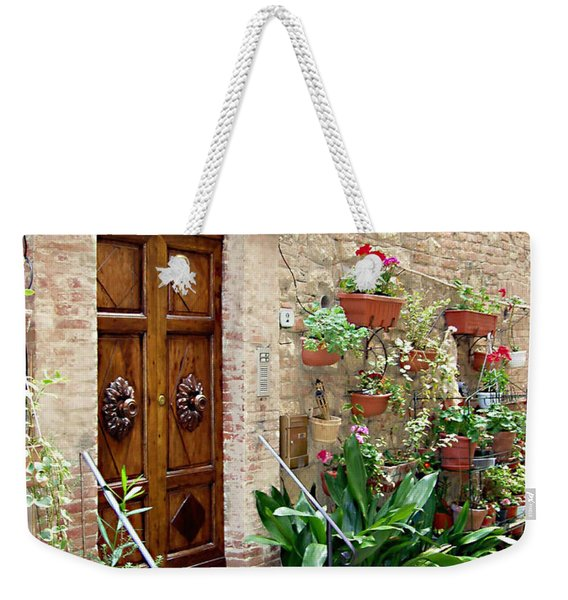 Front Door Weekender Tote Bag