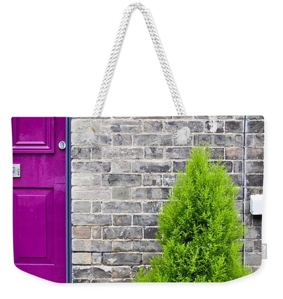 Front Of House Weekender Tote Bag