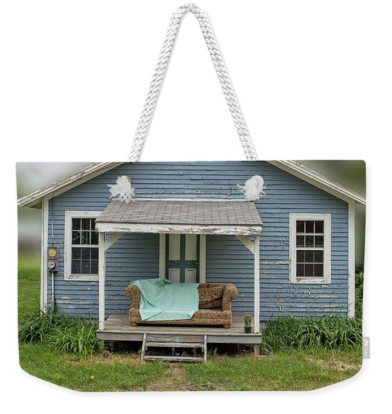 Front Porch Comfort Weekender Tote Bag