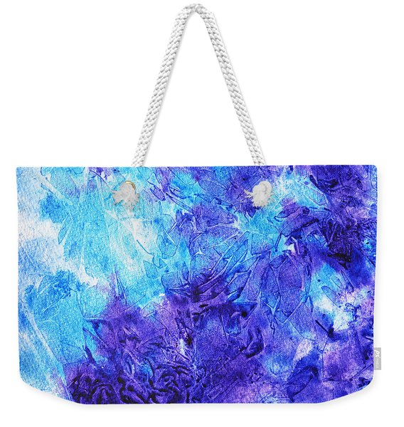Frosted Window Abstract IIi Weekender Tote Bag