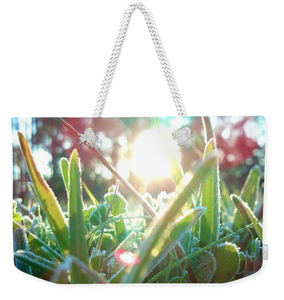 Frosty Flare Weekender Tote Bag