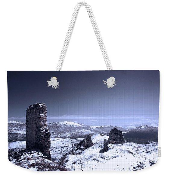 Frozen Landscape Weekender Tote Bag