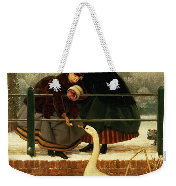 Frozen Out Weekender Tote Bag