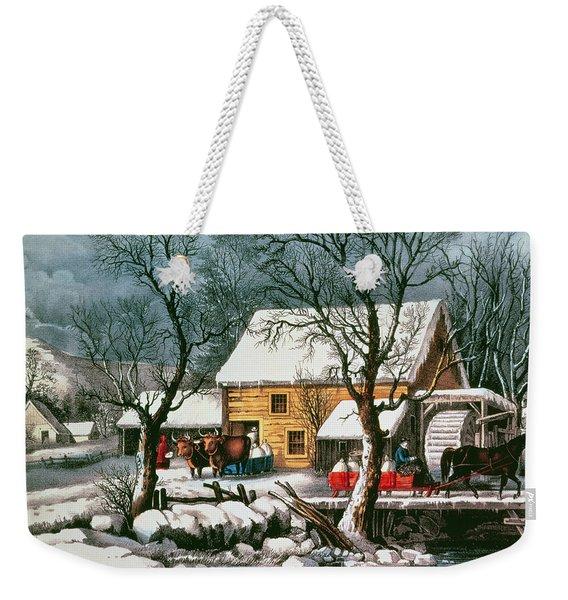 Frozen Up Weekender Tote Bag