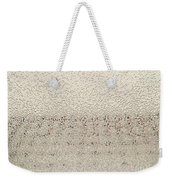 Frozen Window Weekender Tote Bag