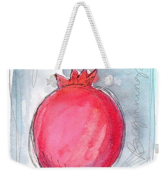 Fruitful Beginning Weekender Tote Bag