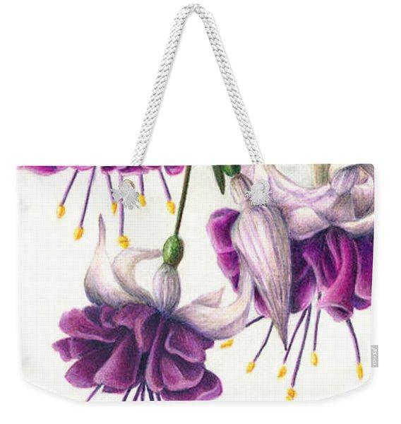 Fuchsia Beauty Weekender Tote Bag