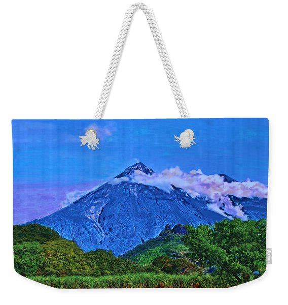 Fuego Volcano Guatamala Weekender Tote Bag
