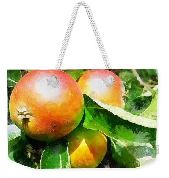 Fugly Manor Apples Weekender Tote Bag