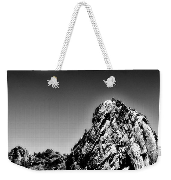 Full Moon Over The Suicide Rock Weekender Tote Bag