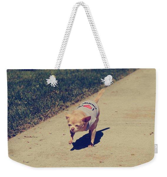 Full Speed Ahead Weekender Tote Bag
