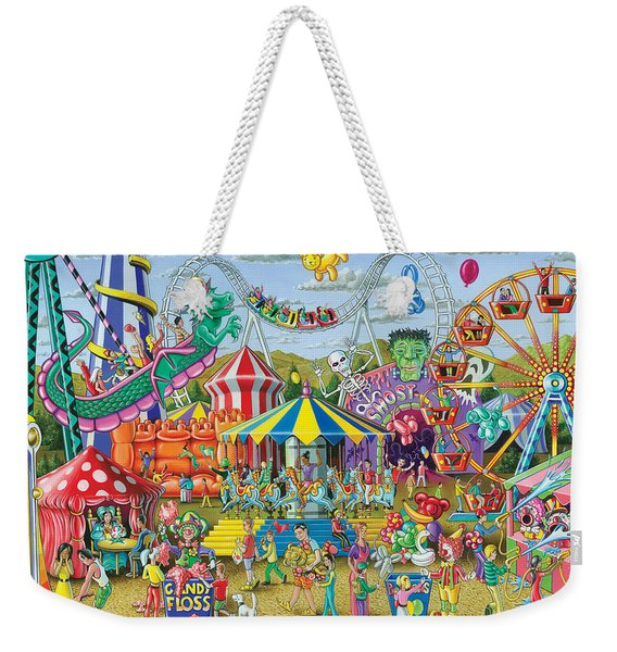 Fun At The Fairground Weekender Tote Bag