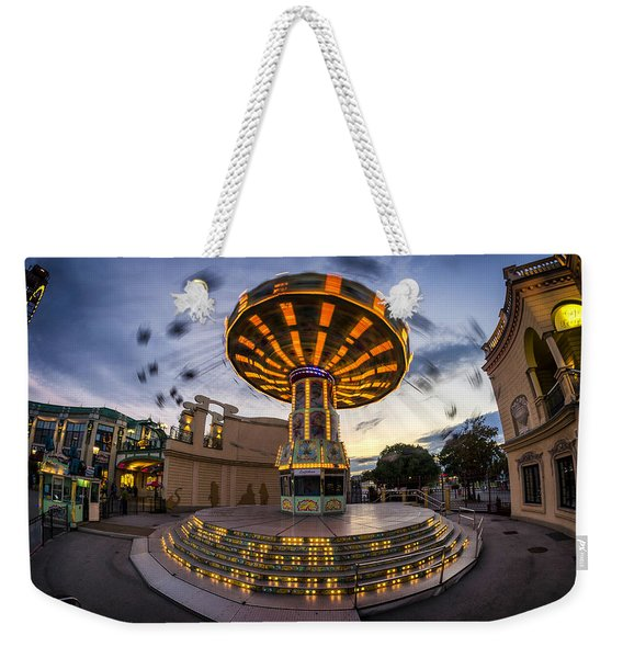 Fun Fair In The Night Weekender Tote Bag