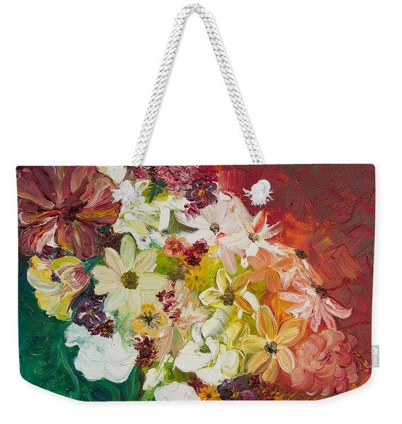 Fun With Flowers Weekender Tote Bag