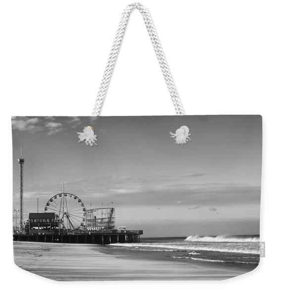 Funtown Pier Seaside Heights New Jersey  Weekender Tote Bag