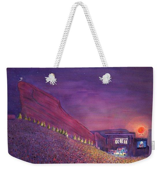 Furthur Red Rocks Equinox Weekender Tote Bag