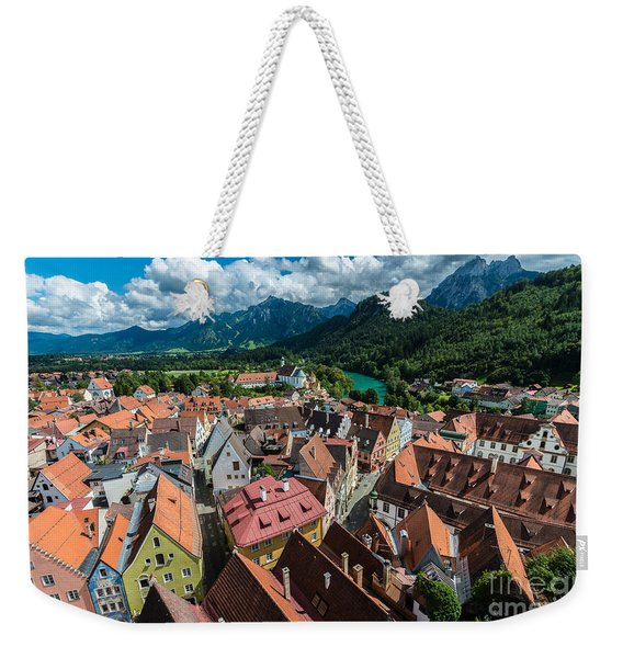 Fussen - Bavaria - Germany Weekender Tote Bag
